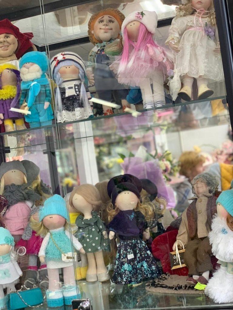 Варианты кукол ручной работы